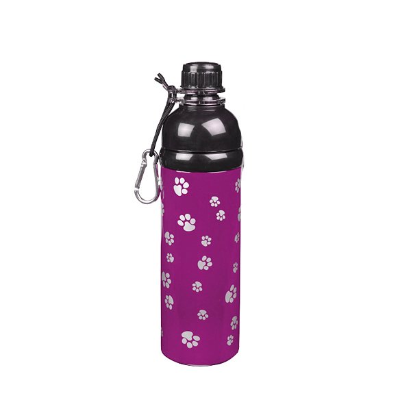Guardian Gear Stainless Steel Pet Water Bottle - Pink