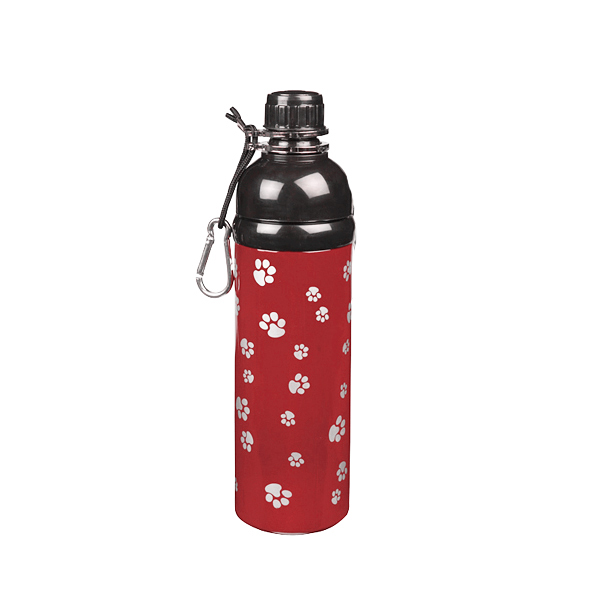 Guardian Gear Stainless Steel Pet Water Bottle - Red