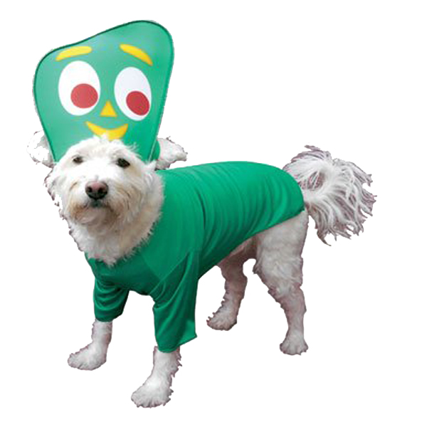 Gumby Costume Kids Gumby Dog Costume by Rasta
