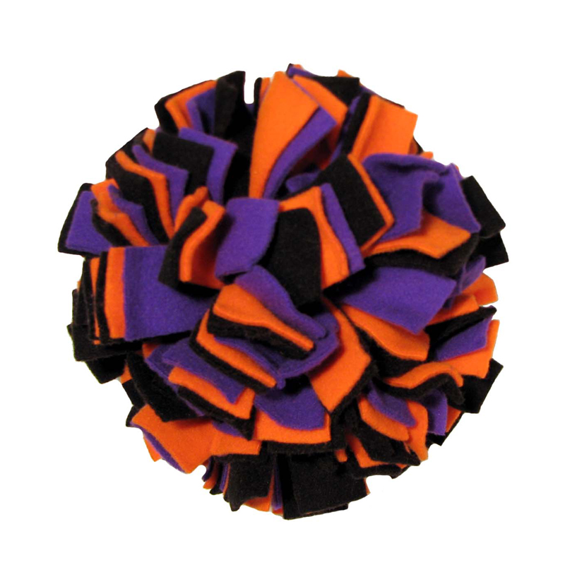 Halloween Fleecy Clean Ball Dog Toy