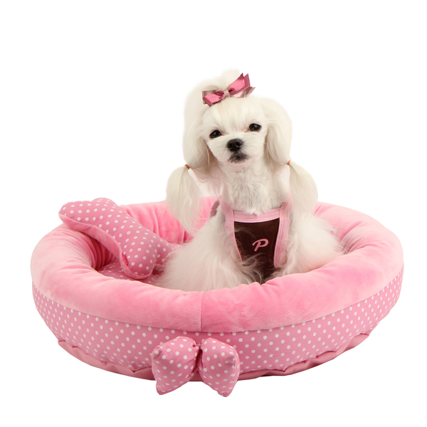 Halo Dog Bed by Pinkaholic - Pink