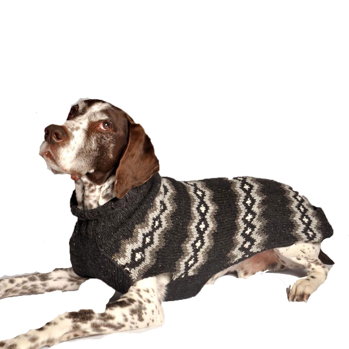 Handmade Nordic Diamond Wool Dog Sweater