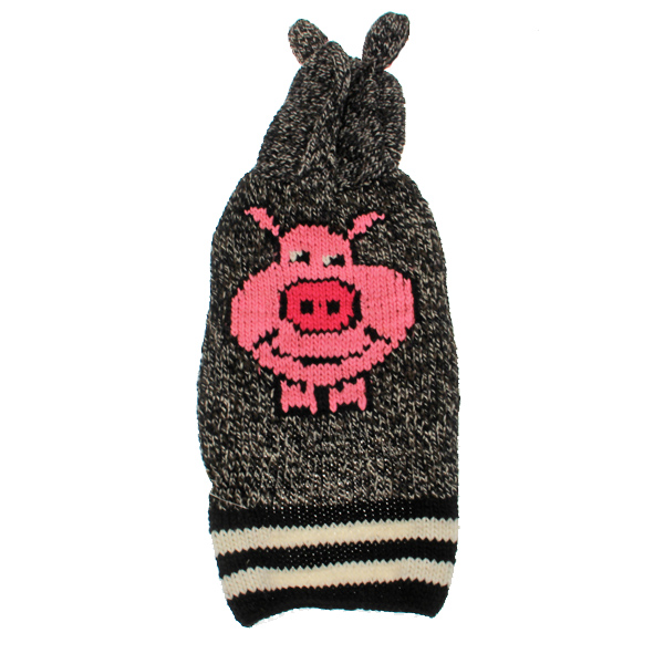 Handmade Piggy Wool Dog Sweater