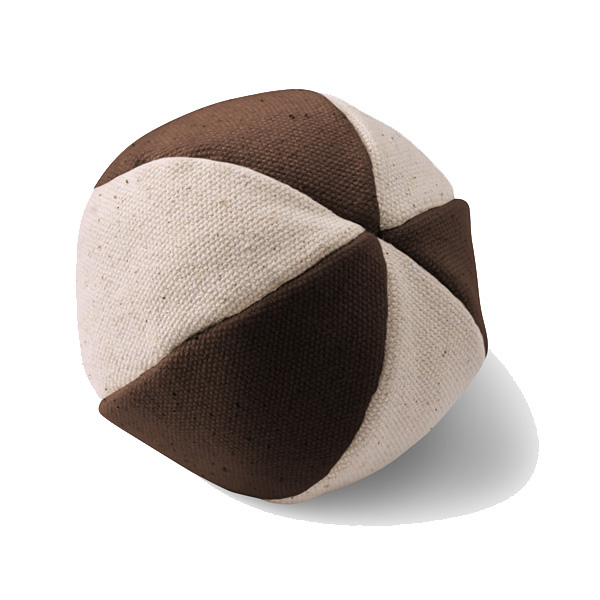 Hemp Ball Dog Toy by Doggles