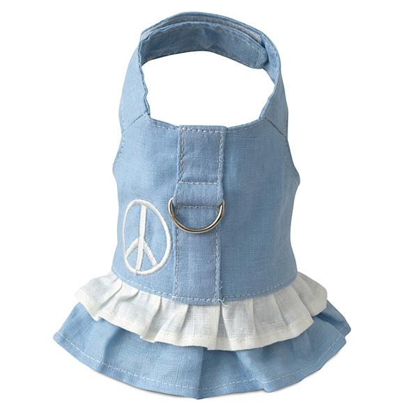 Hemp Harness Dress - Blue