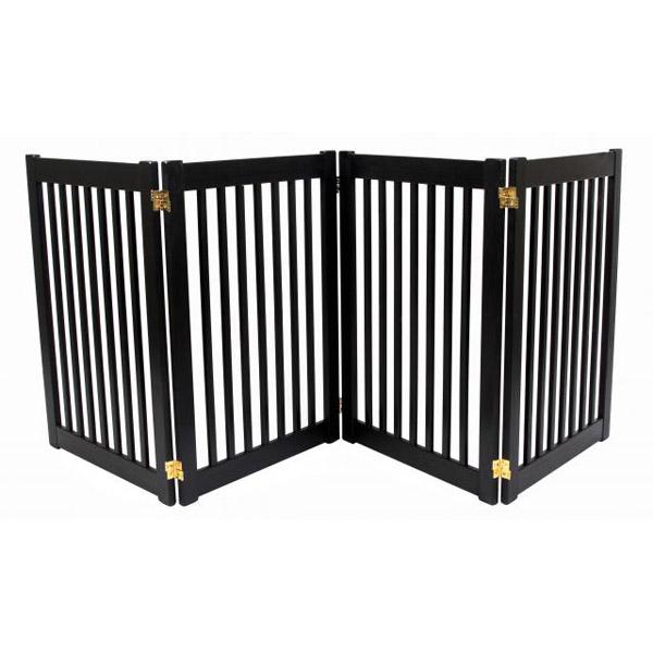Highlander 32 Quot Free Standing Ez Dog Gate Black At Baxterboo
