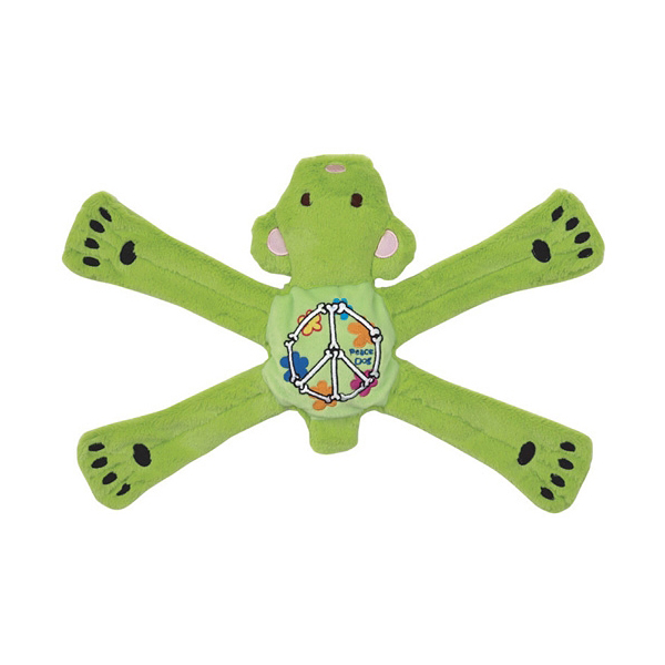 Hippie Pentas Dog Toy by Doggles - Green Bear