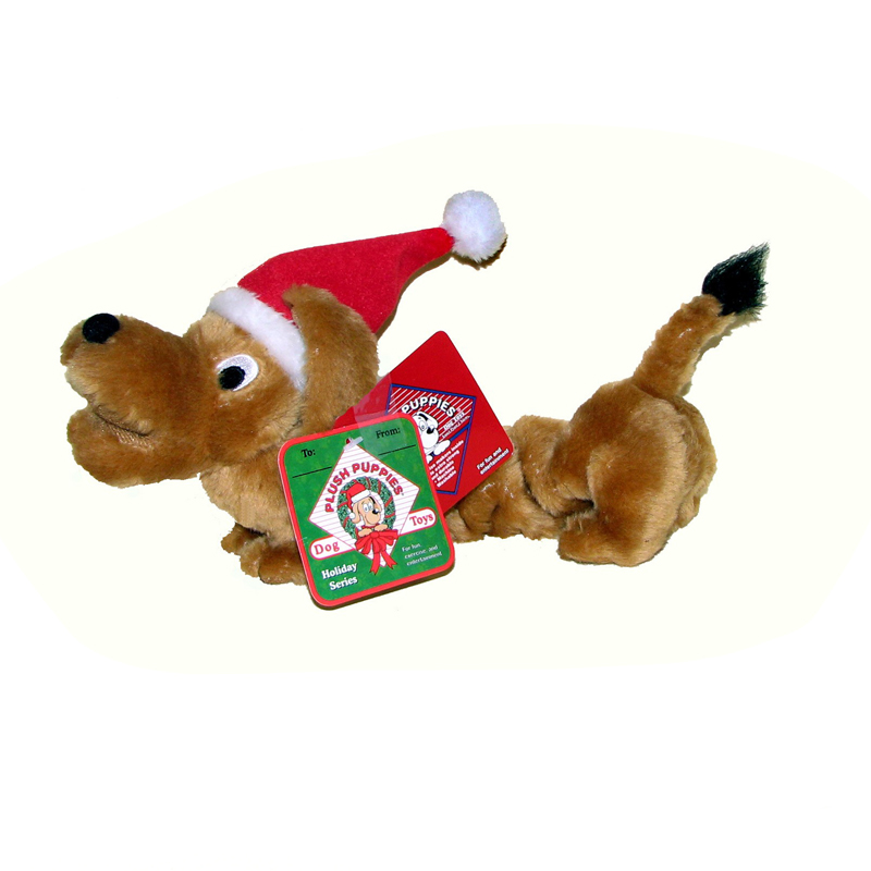 Holiday Bungee Wiener Dog Toy