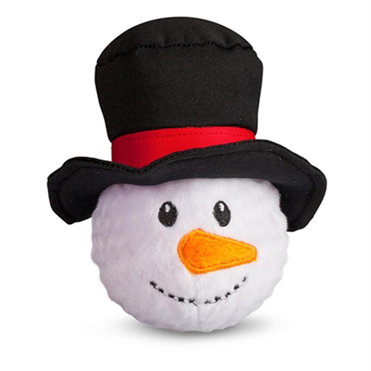 Holiday Faballs Dog Toy - Snowman   BaxterBoo