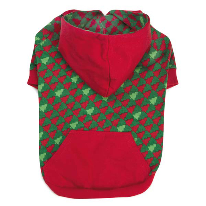 Holiday Houndstooth Dog Pullover