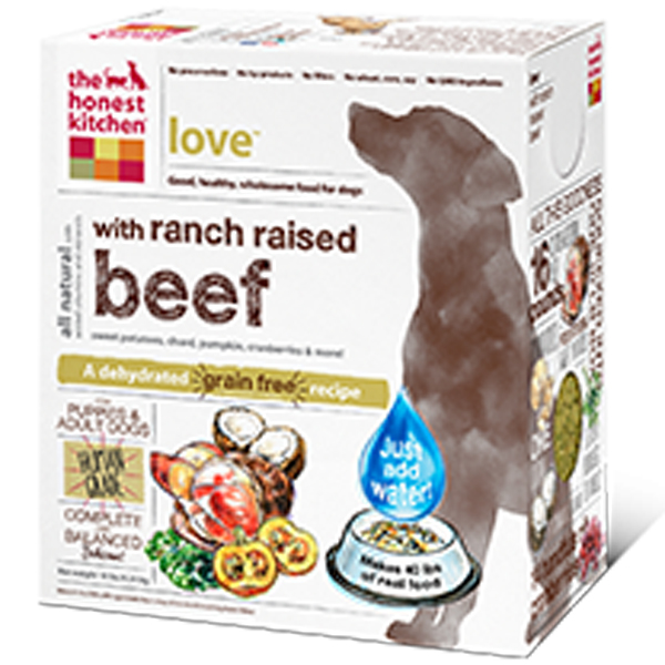 The Honest Kitchen's Love Grain-Free Dehydrated Dog Food