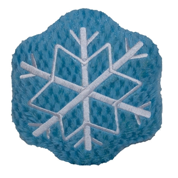 HuggleHounds Snowflake Dog Toy