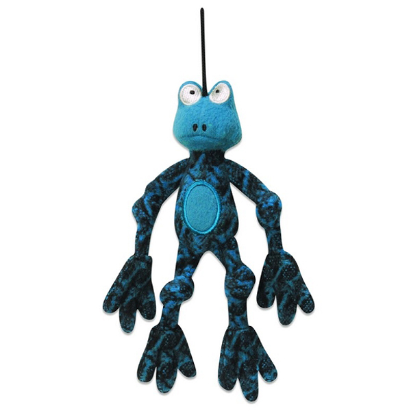 Hugglehounds Henri X-Brace Frog Dog Toy