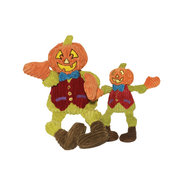 Hugglehounds Knottie Dog Toy - Pat the Pumpkin Man
