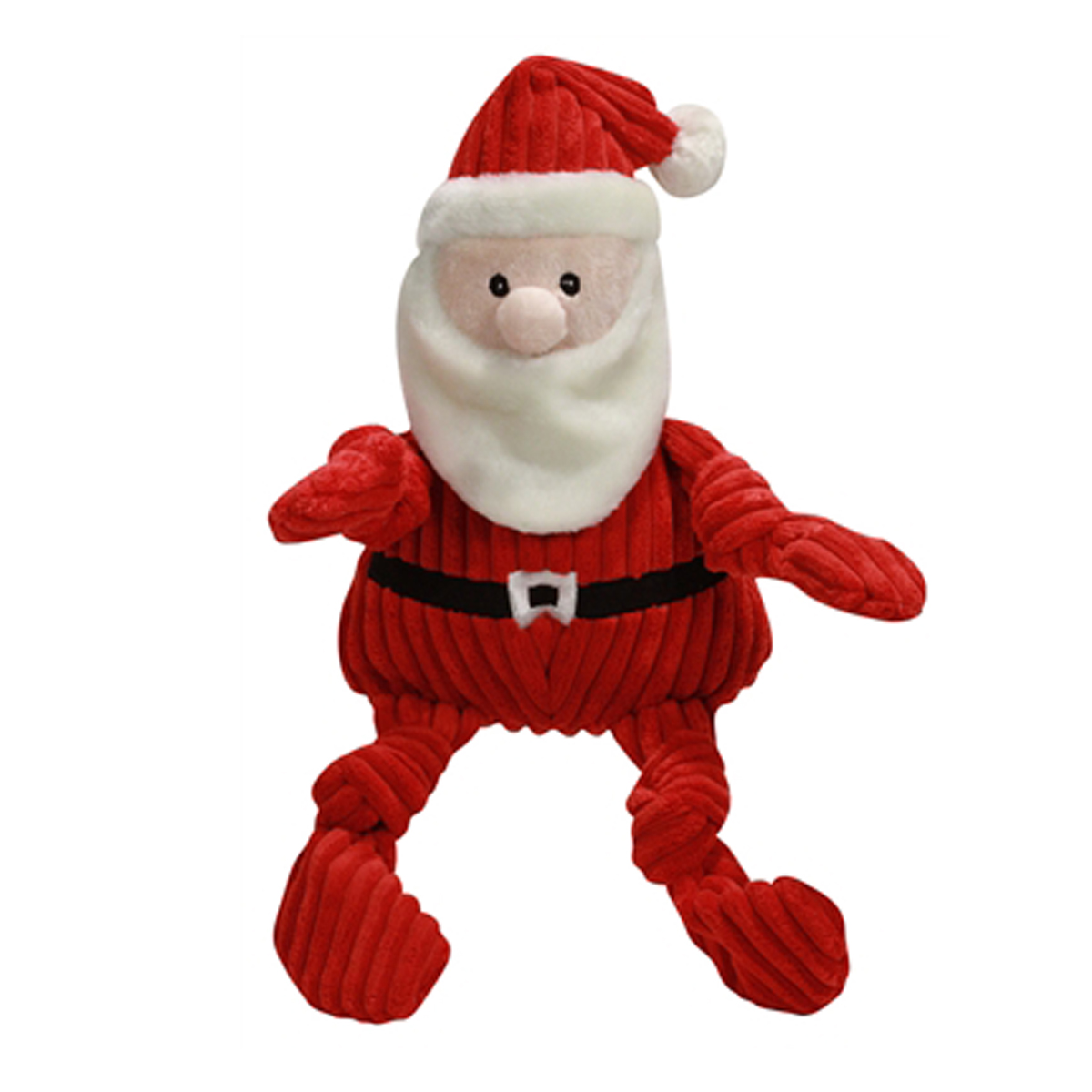 Toys From Santa : Hugglehounds knottie santa dog toy baxterboo
