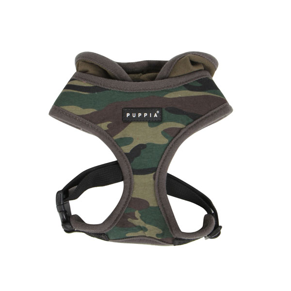 Hunter Hooded Dog Harness By Puppia