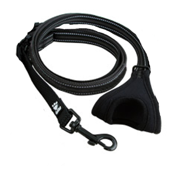Hurtta Free Hand Dog Leash - Granite