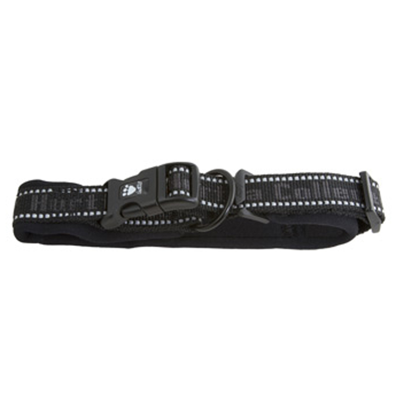 Hurtta Outdoors Padded Dog Collar - Black