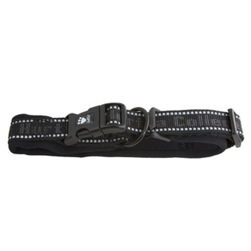 Hurtta Outdoors Padded Dog Collar - Black
