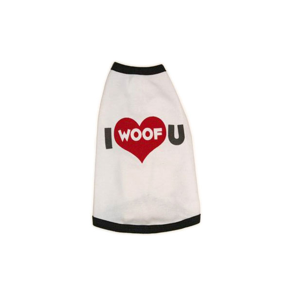 I Woof U Dog T-Shirt