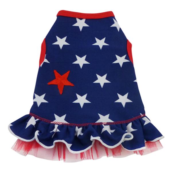 I'm a Star Dog Dress - Blue