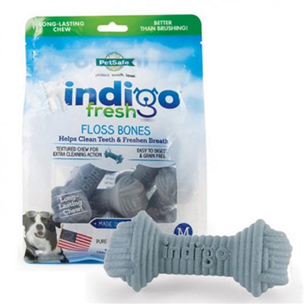 indigo Fresh Floss Bones Dog Treat
