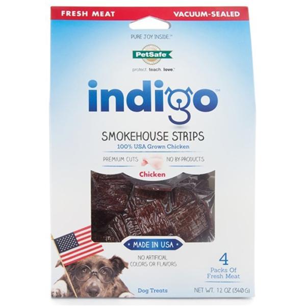indigo Smokehouse Strips Dog Treats - Chicken