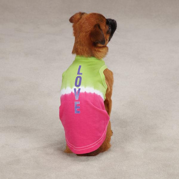 Inspirational Dog Tank by Zack & Zoey - Love