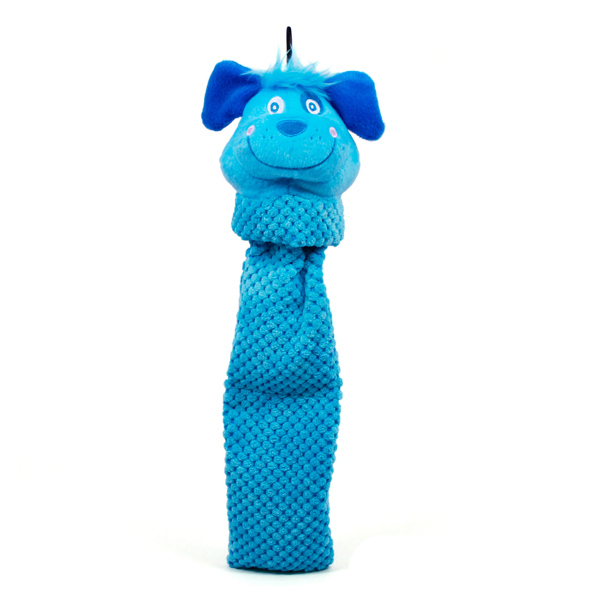 Invincibles Flappy Friends Dog Toy - Blue Dog