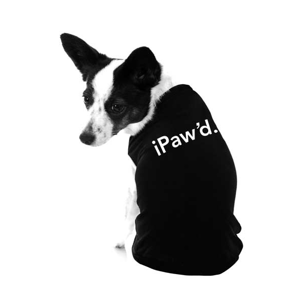 iPaw'd Dog Shirt by iStyle