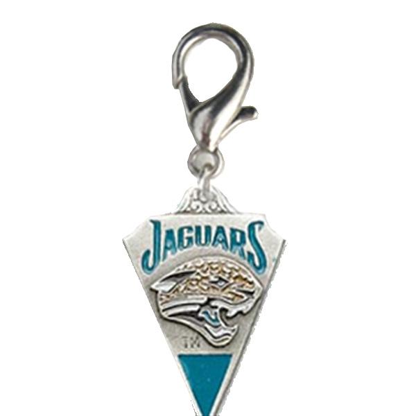 Jacksonville Jaguars Pennant Dog Collar Charm