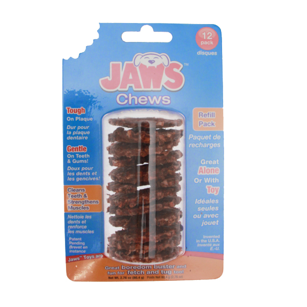 Jaws Pretzel Dog Toy Treat Refill