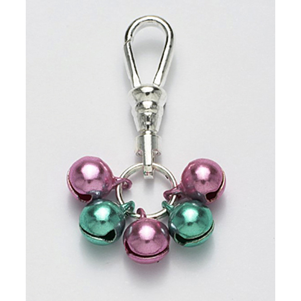 Jingle Bell Preppy Dog Collar Charm or Cat Collar Charm