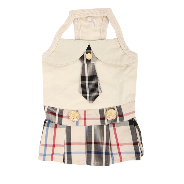 Junior Dog Dress by Puppia - Beige