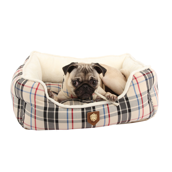Junior House Dog Bed by Puppia - Beige