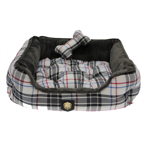 Junior House Dog Bed by Puppia - Gray
