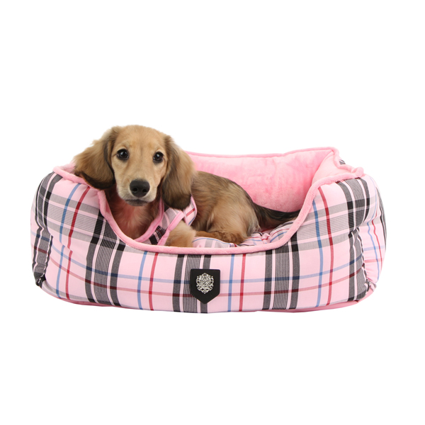 Junior House Dog Bed by Puppia - Pink