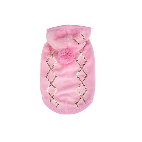 Juno Sequins Hoodie by Puppia - Pink