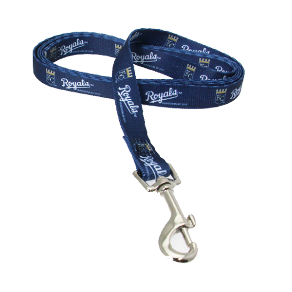 Kansas City Royals Baseball Printed Dog Leash - Navy
