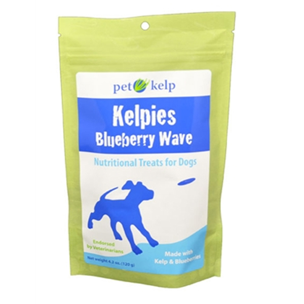 Kelpies - Blueberry Wave Kelp Pet Treats