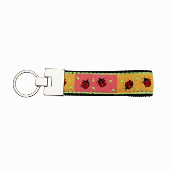 Up Country Key Ring - Ladybug
