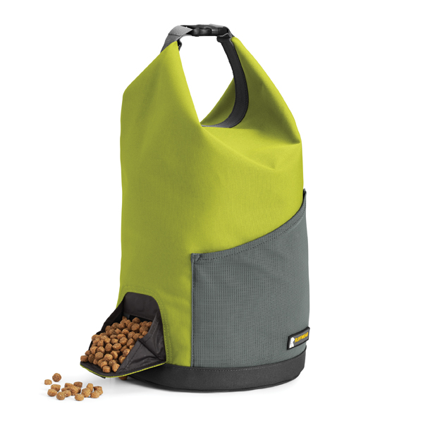 Kibble Kaddie Dog-Food Carrier by RuffWear - Forest Green
