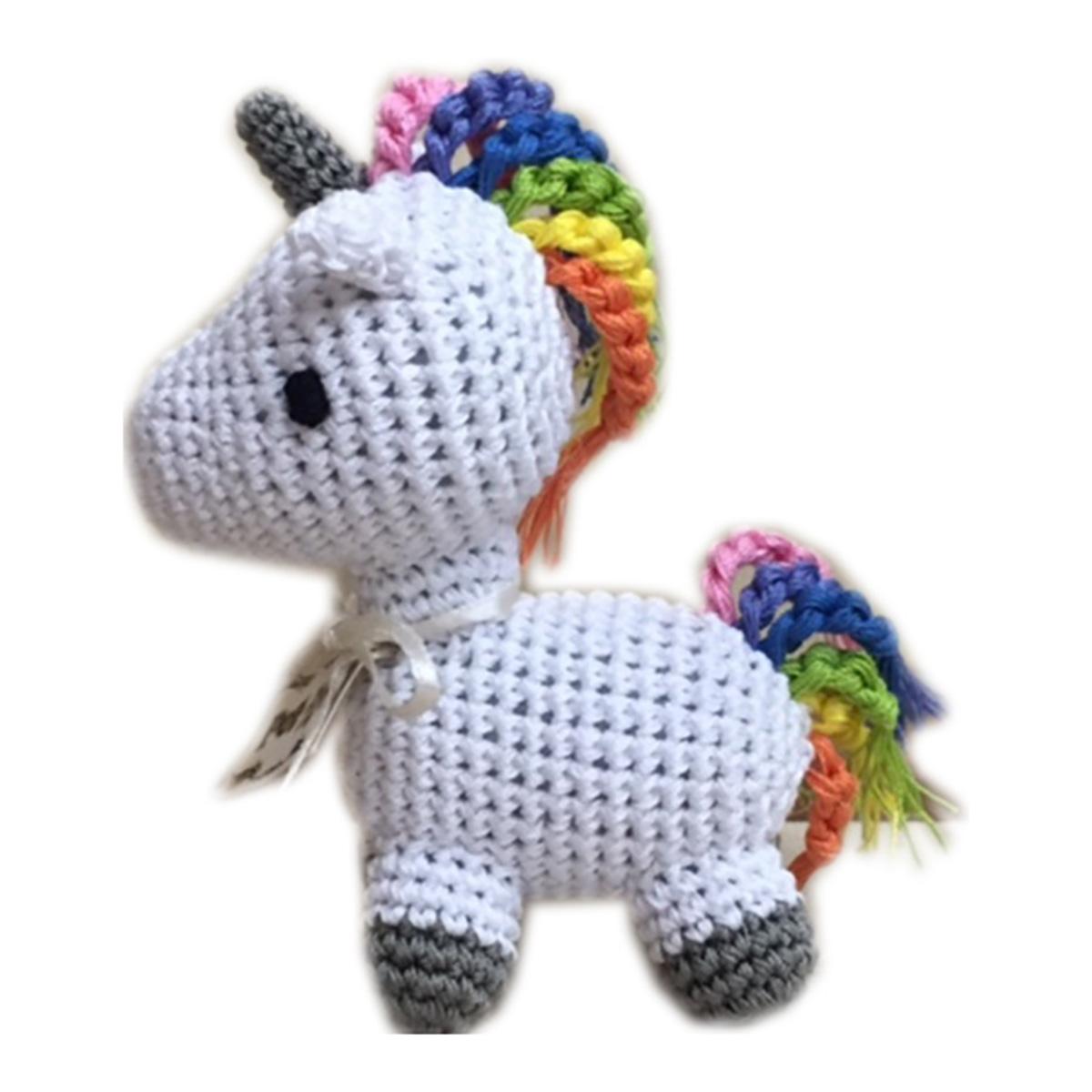 Knitting Pattern For Unicorn Toy : Knit Knacks Mystic the Magic Unicorn Organic Dog Toy ...