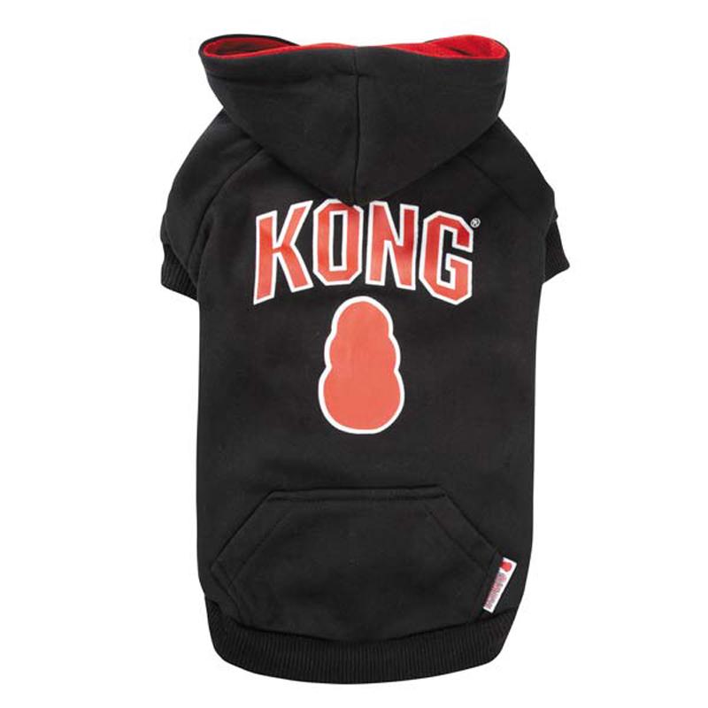 Kong Dog Hoodie - Black