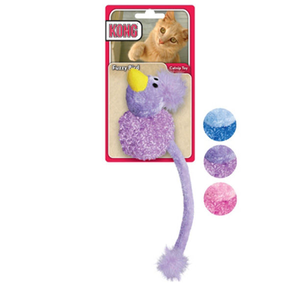 Kong Fuzzy Bird Cat Toy