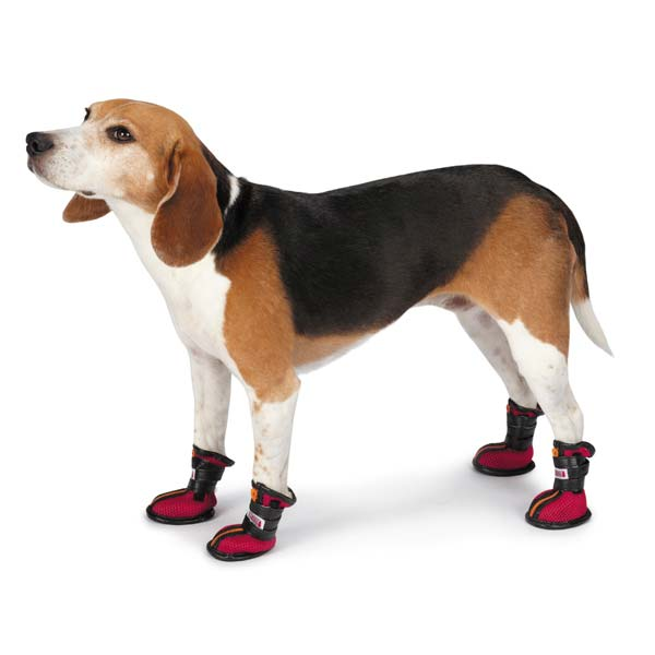 KONG High-Top Sport Dog Boots - Red