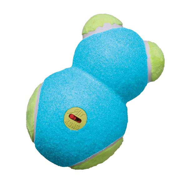 KONG OFF/ON Squeaker Dog Toy - Blue Bear