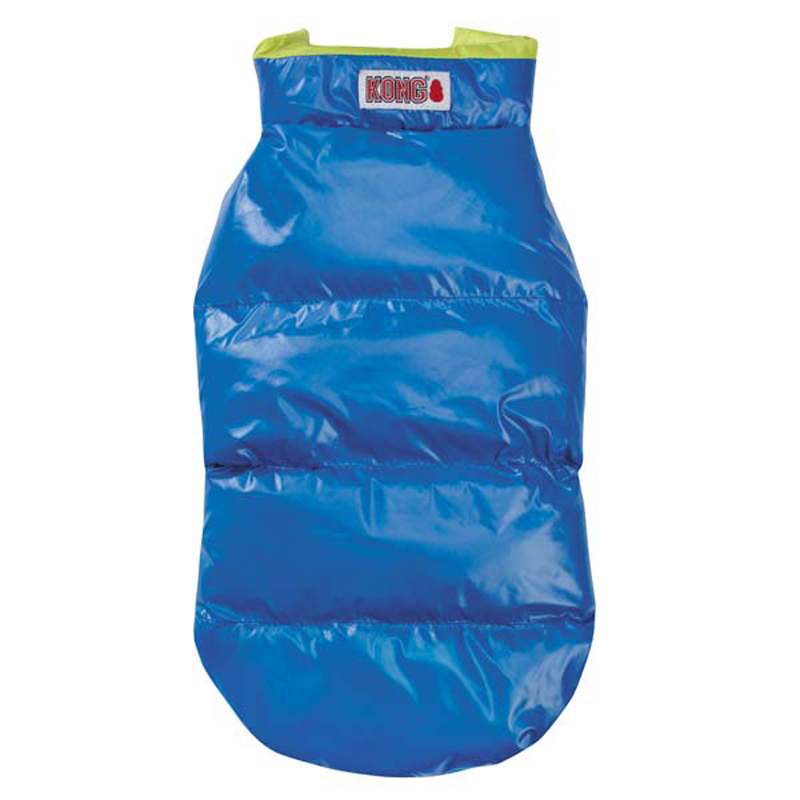 Kong Puffy Dog Vest - Blue