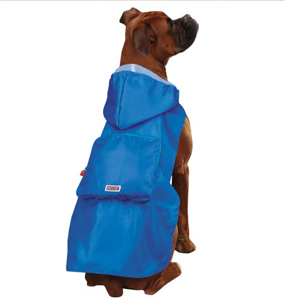 KONG Stowaway Dog Jacket - Blue