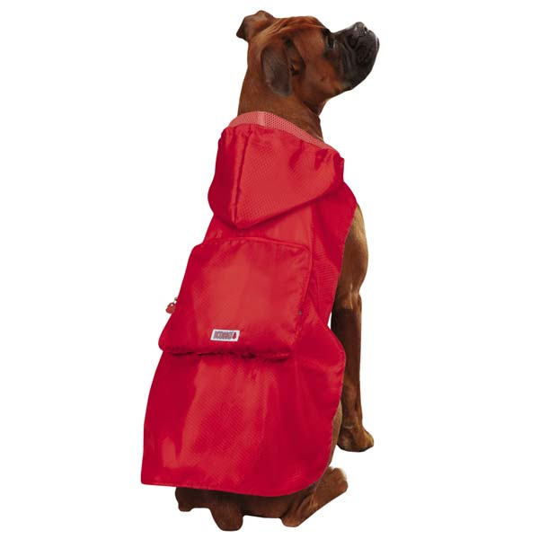 KONG Stowaway Dog Jacket - Red